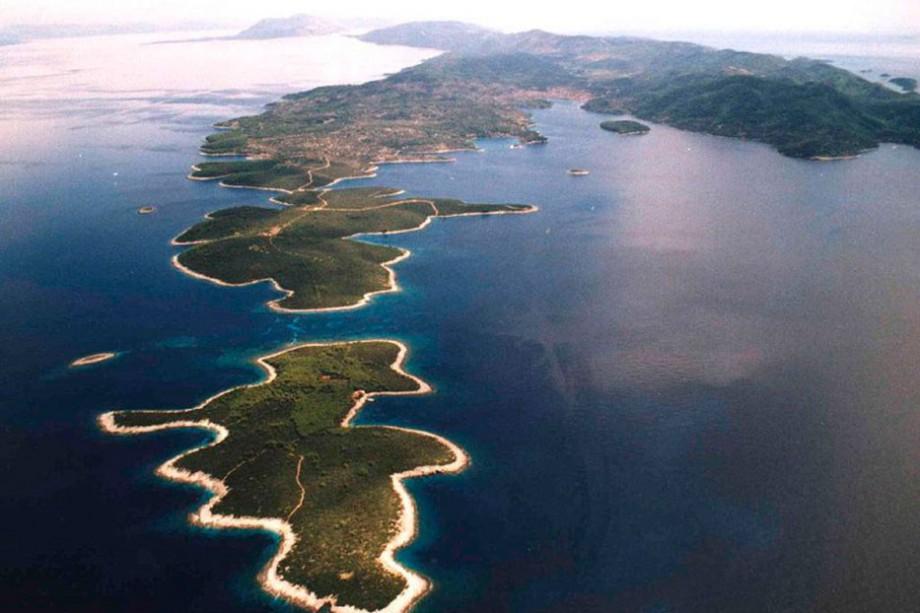 Otok Korčula pogled na Proizd